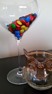 Martini Glass Candy Dish