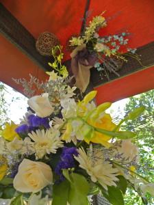 Gazebo florals
