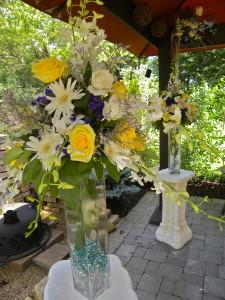 Floral columns