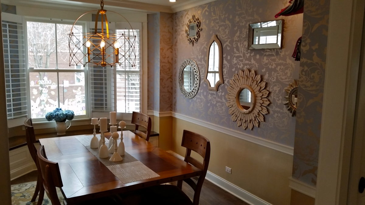 Candice Mirrored Dining Room