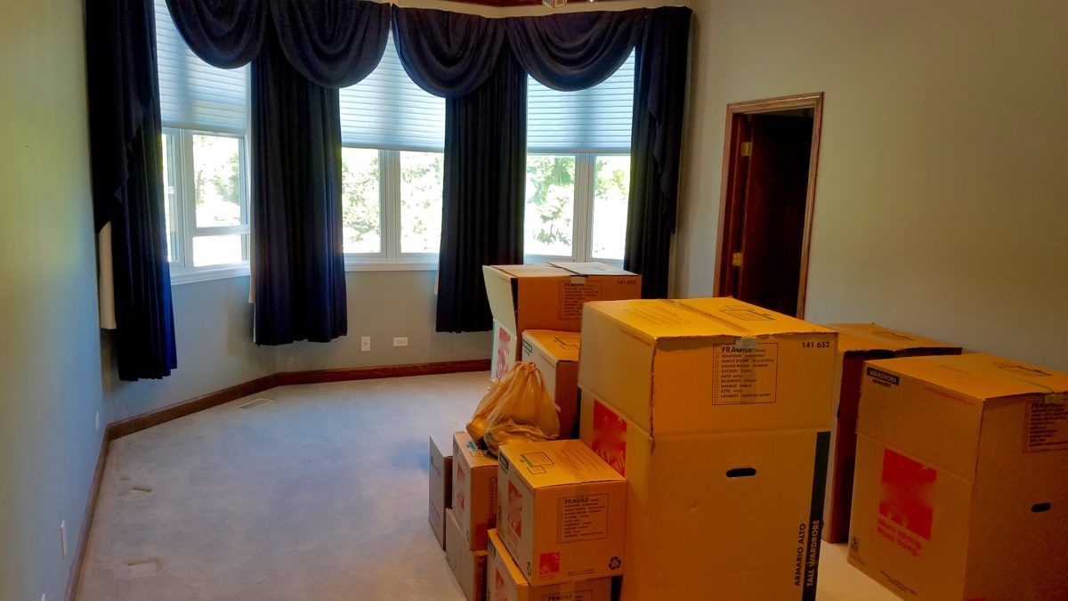 Master Bedroom Move In